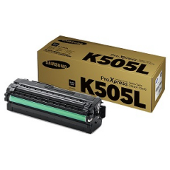 Samsung CLT-K505L Black Toner Cartridge