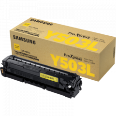 Samsung CLT-Y503L Yellow Toner Cartridge