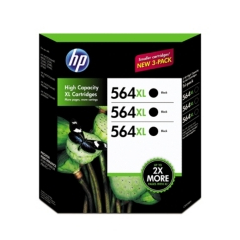 HP CR305BN Black Ink Cartridge 3-Pack