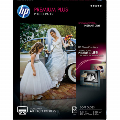 HP CR667A Premium Plus Soft-gloss Photo Paper