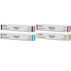 Canon 034 Toner Cartridge Set