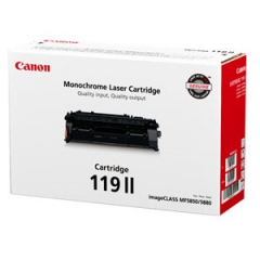 Canon 119 II Black Toner Cartridge