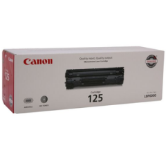 Canon 125 Black Toner Cartridge