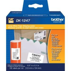 Brother DK1247 Labels