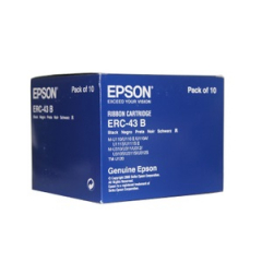 Epson ERC-43 Black Ribbon Cartridge Case