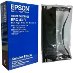 Epson ERC-43B Black Ribbon Cartridge