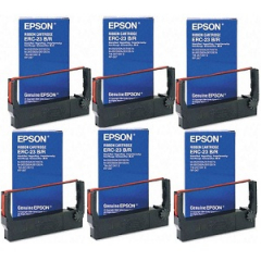 Epson ERC-23 Black Red Ribbon Cartridges