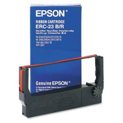 Epson ERC-23 Black Red Ribbon Cartridge
