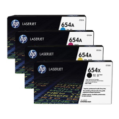 HP 654 Toner Cartridge Set
