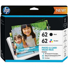 HP K3W67AN Photo and Card Value Pack