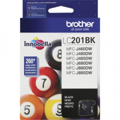 Brother LC201BK Black Ink Cartridge