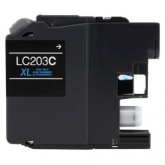 Compatible Brother LC203C Cyan Ink Cartridge
