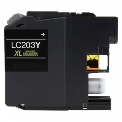 Compatible Brother LC203Y Yellow Ink Cartridge