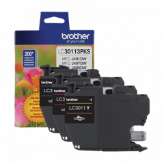 Brother LC30113PKS Value Pack
