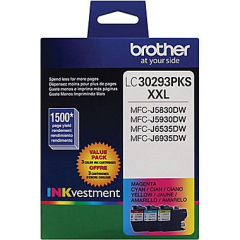 Brother LC30293PK Value Pack