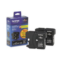 Brother LC652PKS Black Ink Cartridge Twin Pack