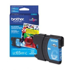 Brother LC65HYC Cyan Ink Cartridge