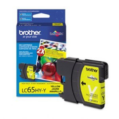 Brother LC65HYY Yellow Ink Cartridge
