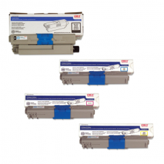 Okidata MC361 Toner Cartridge Set