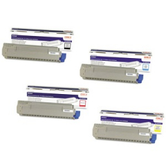Okidata MC860 Toner Cartridge Set