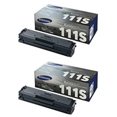 Samsung MLT-D111SD Black Toner Cartridge Dual Pack