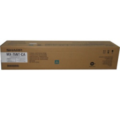Sharp MX75NTCA Cyan Toner Cartridge