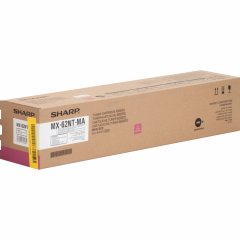 Sharp MX62NTMA Magenta Toner Cartridge