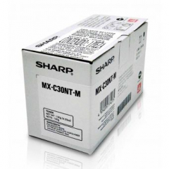 Sharp MXC30NTM Magenta Toner Cartridge