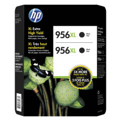 HP 956XL High Yield Black Ink Cartridges