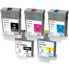 Canon PFI-102 Ink Tank Set