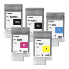 Canon PFI-120 Ink Tank Set