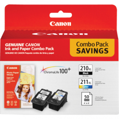 Canon PG-210XL CL-211XL with GP502
