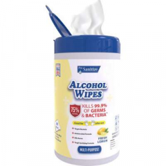 ProSanitize Disinfecting Wipes Fresh Lemon Scent