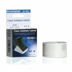 Seiko SLP-1RLC Clear Address Labels