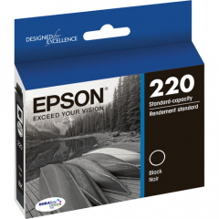 Epson T220120 Black Ink Cartridge