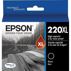 Epson T220XL120 Black Ink Cartridge