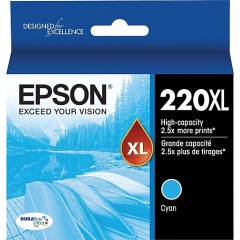 Epson T220XL220 Cyan Ink Cartridge