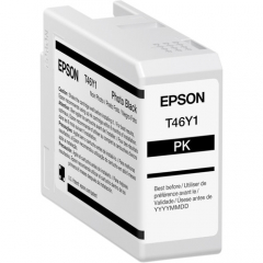 Epson T46Y (T46Y100) Photo Black Ink Cartridge
