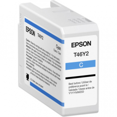 Epson T46Y (T46Y200) Cyan Ink Cartridge