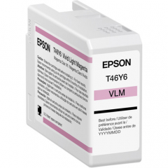 Epson T46Y (T46Y600) Light Magenta Ink Cartridge