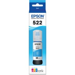 Epson 522 Cyan Ink Bottle T522220