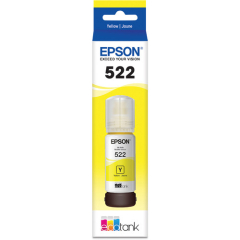 Epson 522 Yellow Ink Bottle T522420