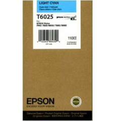 Epson T602500 Light Cyan Ink Cartridge
