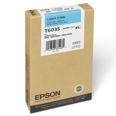 Epson T603500 Light Cyan Ink Cartridge