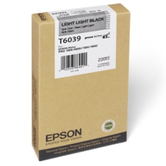 Epson T603900 Light Light Black Ink Cartridge