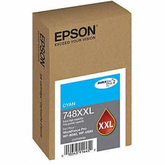 Epson T748XXL220 Cyan Ink Cartridge