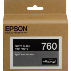 Epson T760120 Photo Black Ink Cartridge