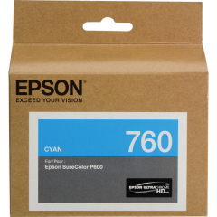 Epson T760220 Cyan Ink Cartridge