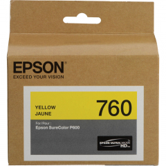 Epson T760420 Yellow Ink Cartridge
