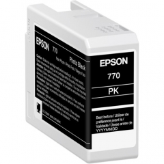 Epson T770 (T770120) Photo Black Ink Cartridge